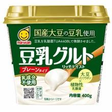 国産大豆の豆乳使用 豆乳グルト 400g | マルサンアイ株式会社 ...